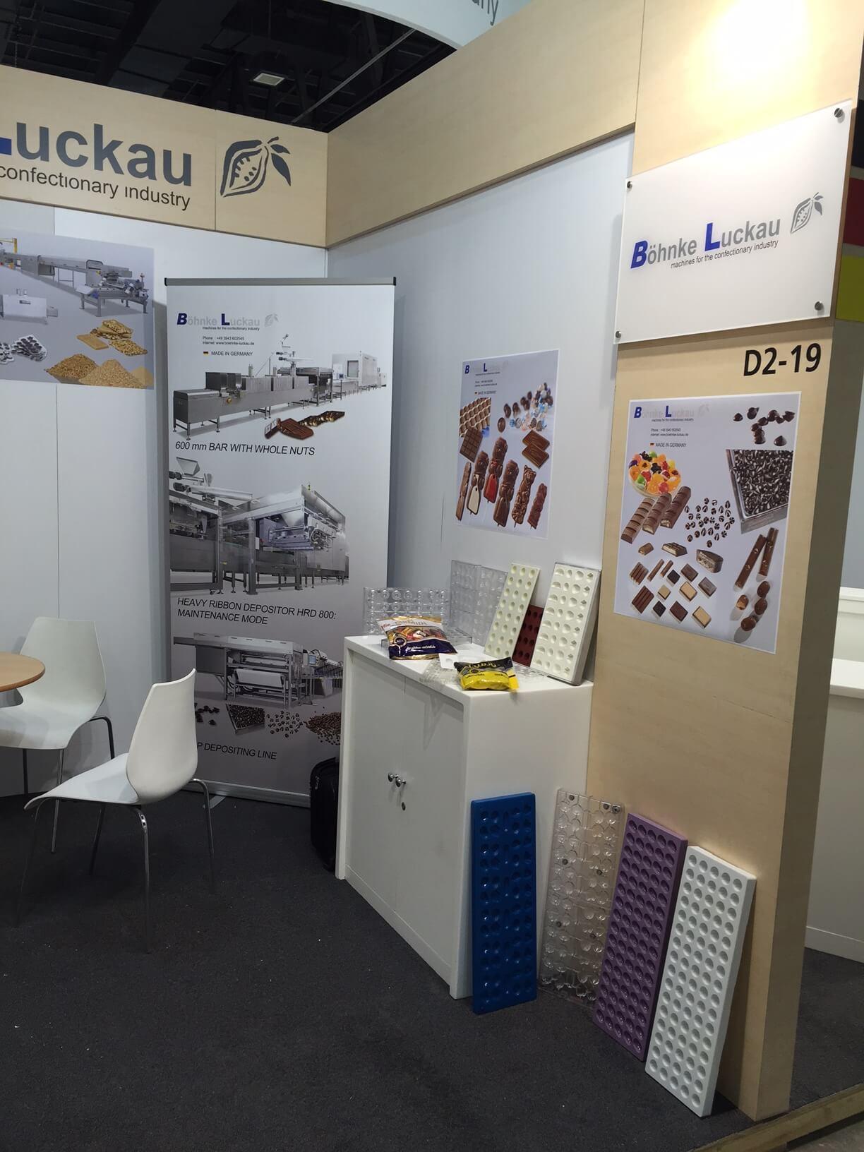 Böhnke & Luckau at the exhibition Dubai fair Gulfood Manufacturing 2016 1