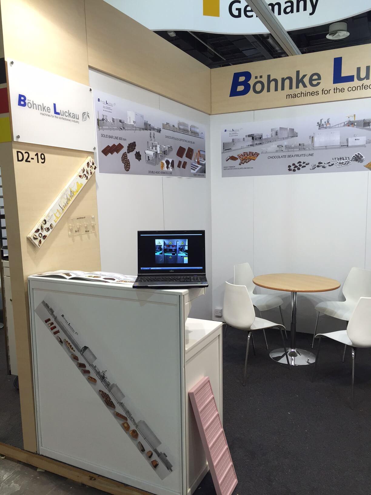 Böhnke & Luckau at the exhibition Dubai fair Gulfood Manufacturing 2016 3