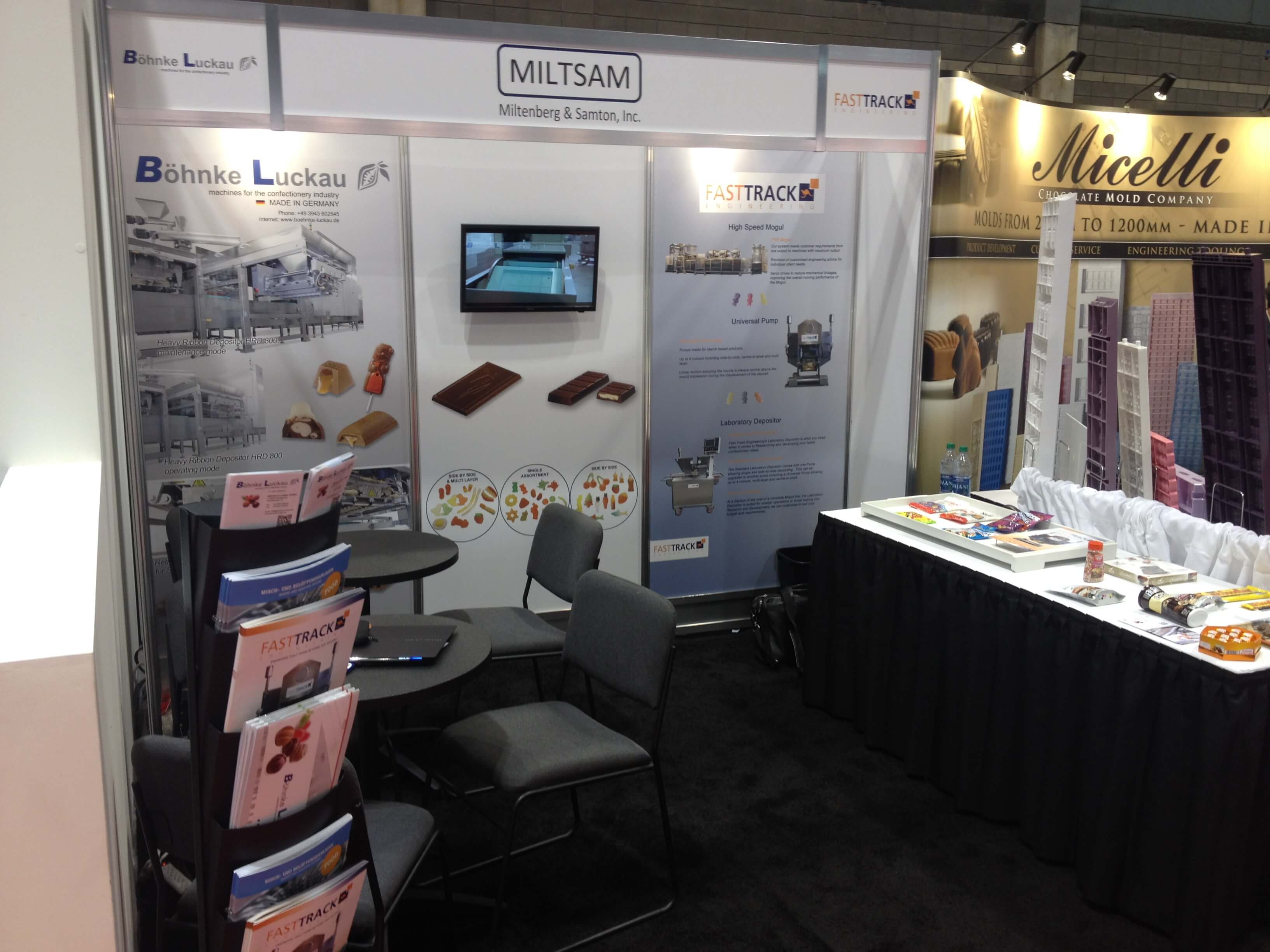 Böhnke & Luckau at the exhibition Pack Expo Chicago USA 2016 1