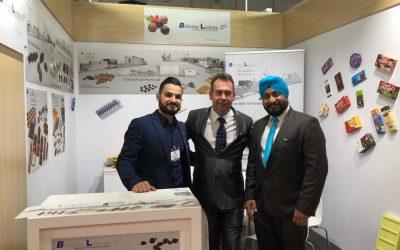 Böhnke & Luckau at the exhibition Dubai fair Gulfood Manufacturing 2018