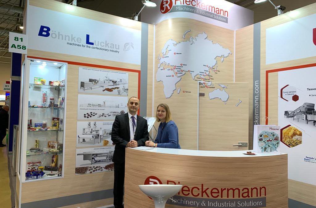 Böhnke & Luckau at the exhibition Agroprodmash Russia 2019
