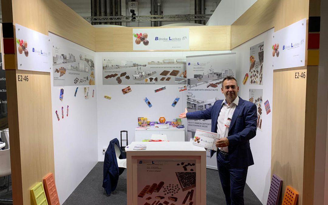 Böhnke & Luckau at the exhibition Dubai fair Gulfood Manufacturing 2019